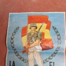 Carteles Guerra Civil: CARTEL GUERRA CIVIL. Lote 128781426