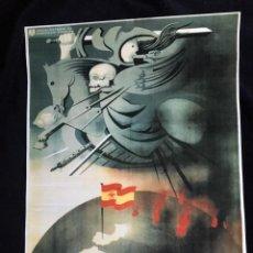 Plakate Spanischer Bürgerkrieg - CARTEL, FRANCO MANTIENE LA PAZ EN ESPAÑA (REPRO) - 139275514