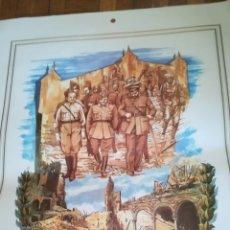 Carteles Guerra Civil: CARTEL, EL ALCAZAR NO SE RINDE. Lote 142763534