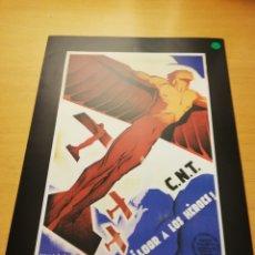 Carteles Guerra Civil: C. N. T (ARTURO BALLESTER, 1936) 29 X 21 REPRODUCCIÓN CARTEL GUERRA CIVIL. Lote 147723710