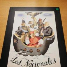 Carteles Guerra Civil: LOS NACIONALES. MINISTERIO DE PROPAGANDA (JUAN ANTONIO MORALES, 1936). Lote 147723954