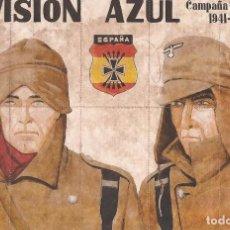 Carteles Guerra Civil: CUPONES DE RACIONAMIENTO DIVISIÓN AZUL DE BAZTÁN NAVARRA. Lote 148042158