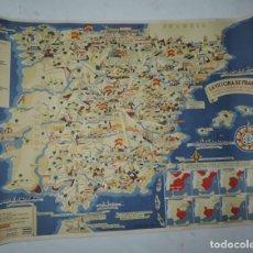 Carteles Guerra Civil: CARTEL DE LA GUERRA CIVIL, VICTORIA DE FRANCO, HECHOS CULMINANTES DE LA GUERRA DE LIBERACION DE ESPA. Lote 155051202