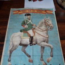 Carteles Guerra Civil: LÁMINA 21X29. Lote 155502274