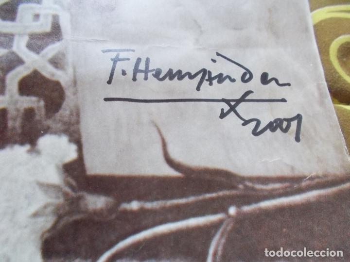Carteles Guerra Civil: INTERESANTISIMO CARTEL ,FEDERICO GARCIA LORCA ,CON FIRMA ORIGINAL DE FRANCISCO HERNANDEZ - Foto 3 - 155813794