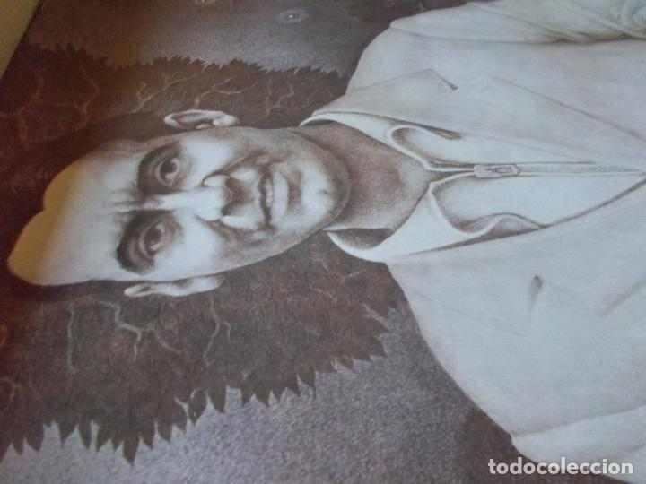 Carteles Guerra Civil: INTERESANTISIMO CARTEL ,FEDERICO GARCIA LORCA ,CON FIRMA ORIGINAL DE FRANCISCO HERNANDEZ - Foto 5 - 155813794