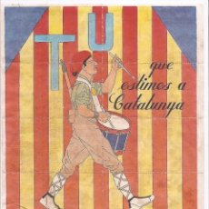 Carteles Guerra Civil: ANTIGU PLIEGO DE CUPONES RACIONAMIENTO , BARCELONA , MEDIDAS 29,5 CM X 21,5 CM. Lote 155970586