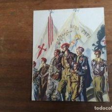 Carteles Guerra Civil: CARTEL GUERRA CIVIL C.S DE TEJADA PERTENECE A LA REVISTA VERTICE Nº EXTRAORDINARIO DE 1937 LAMINA. Lote 162349238