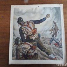 Carteles Guerra Civil: CARTEL GUERRA CIVIL AÑO 1939 - EDICIONES ESPAÑOLAS, S.A. (SEVILLA) - C.S. DE TEJADA. Lote 162351494
