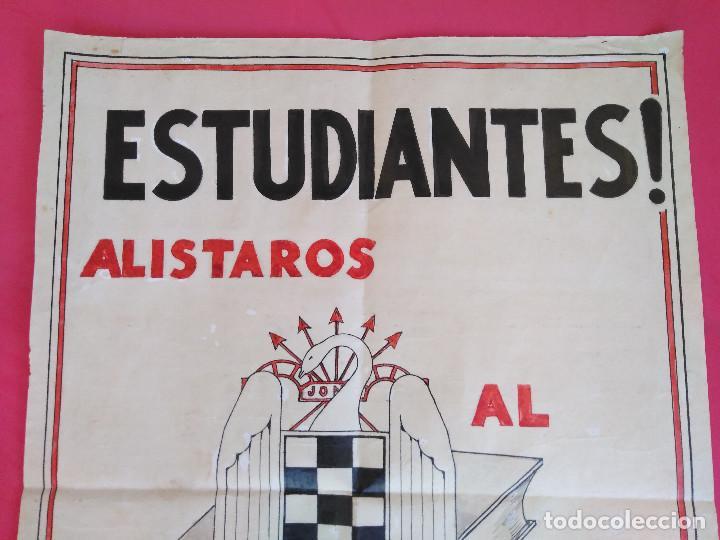 Carteles Guerra Civil: Cartel Original. S.E.U. Frente de Juventudes - Foto 4 - 167533264