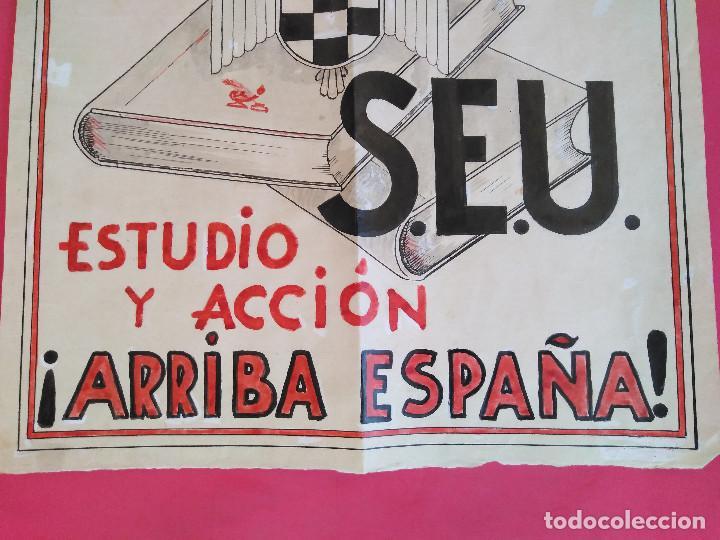 Carteles Guerra Civil: Cartel Original. S.E.U. Frente de Juventudes - Foto 6 - 167533264