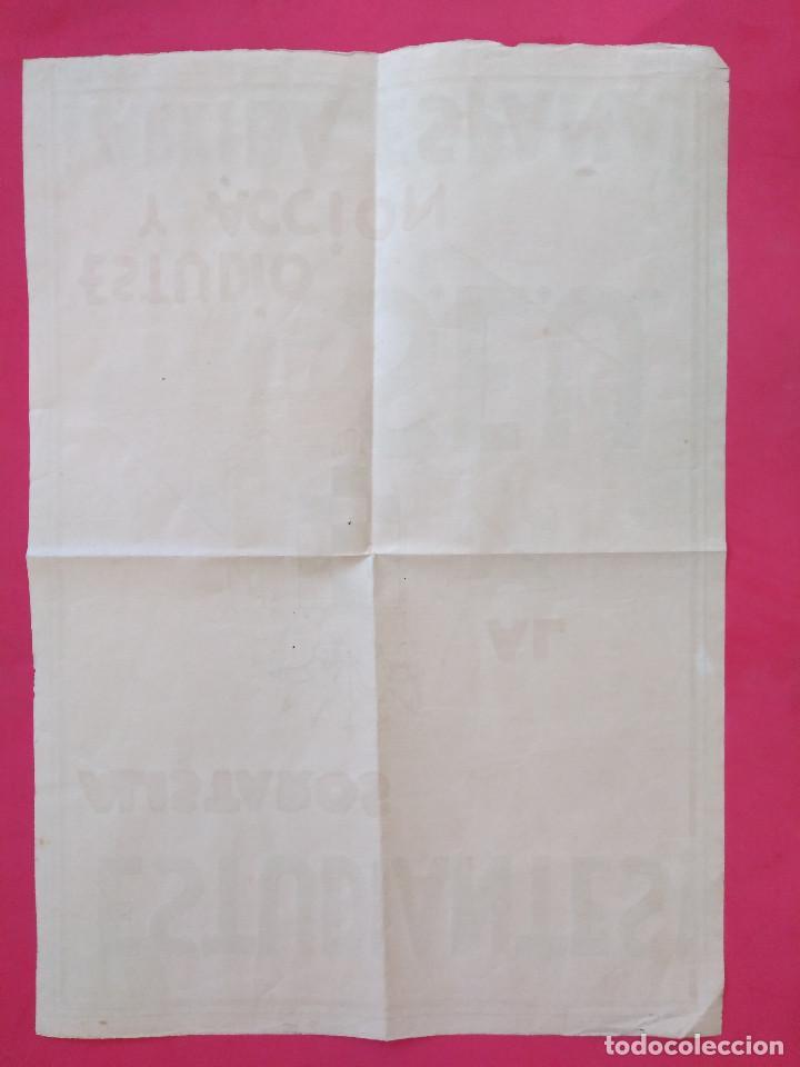 Carteles Guerra Civil: Cartel Original. S.E.U. Frente de Juventudes - Foto 7 - 167533264