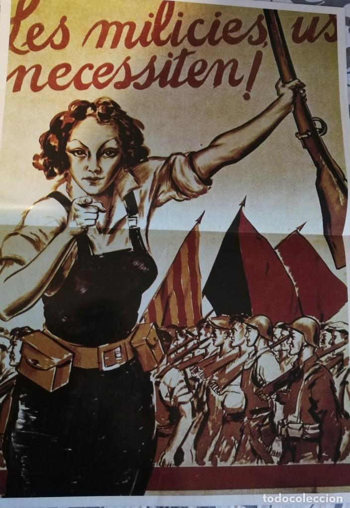 Carteles Guerra Civil: 5 carteles de la guerra civil Española - reproducciones - Foto 2 - 172009637