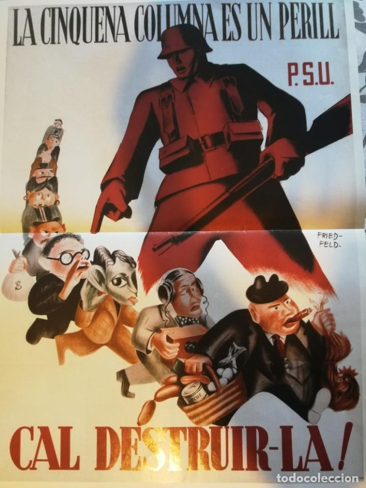 Carteles Guerra Civil: 5 carteles de la guerra civil Española - reproducciones - Foto 3 - 172009637
