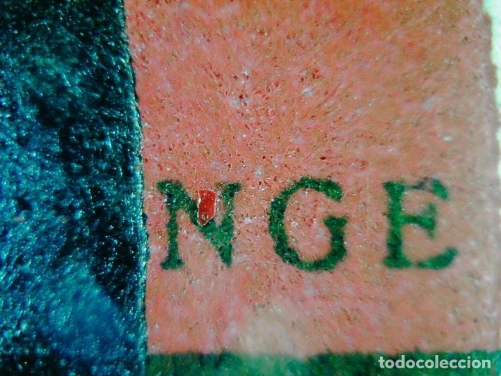 Carteles Guerra Civil: Franciso Franco Cartel original en papel algodon grueso Falange Lit. Valverde Renteria firma Crispin - Foto 4 - 173880503