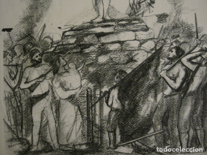 Carteles Guerra Civil: GUERRA CIVIL-CARTEL POEMA ALBERTI -DEFENSA CATALUÑA-comissariat generalitat cat-VER FOTOS(V-17.890) - Foto 7 - 181071435