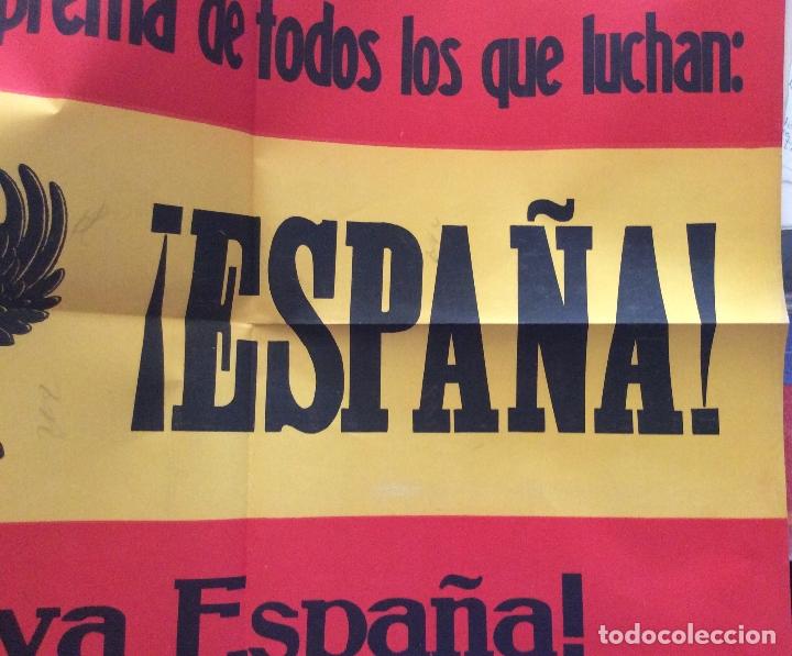 Carteles Guerra Civil: 1937.- CARTEL CARLISTA DE LA GUERRA CIVIL. REQUETE. RARO. ORIGINAL. - Foto 2 - 181422742
