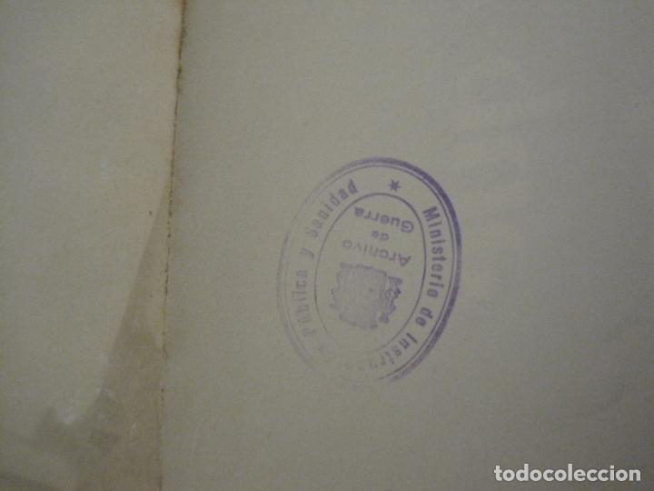 Carteles Guerra Civil: CARTEL GUERRA CIVIL ORIGINAL-EL ARTE DE ESPAÑA-HAY QUE APLASTAR EL FASCISMO-VER FOTOS-(V-18.349) - Foto 8 - 185259007