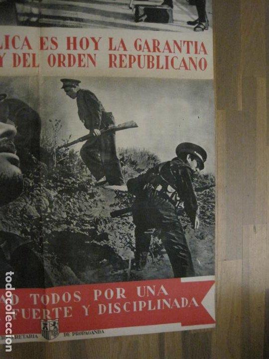 Carteles Guerra Civil: CARTEL GUERRA CIVIL ORIGINAL-GUARDIA CIVIL-FOTOMONTAJE FOTOGRAFIAS-VER FOTOS-(V-18.351) - Foto 6 - 185263000