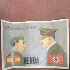 Carteles Guerra Civil: LAMINA. Lote 198723523
