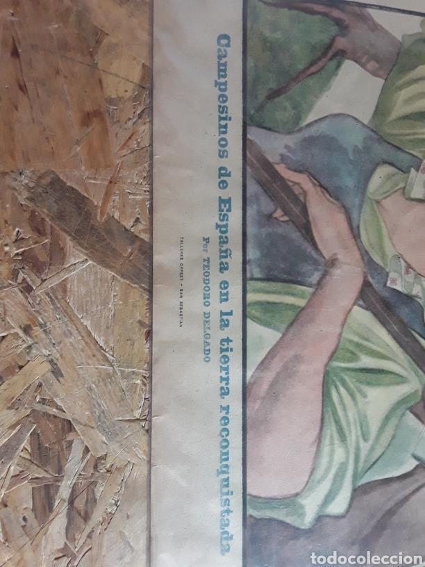 Carteles Guerra Civil: Cartel propabandistico de los 40 de TEODORO DELGADO - Foto 3 - 201184028