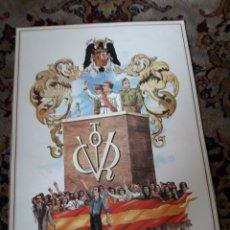 Carteles Guerra Civil: CARTEL ALEGÓRICO DE LA GUERRA CIVIL ESPAÑOLA. Lote 201355735