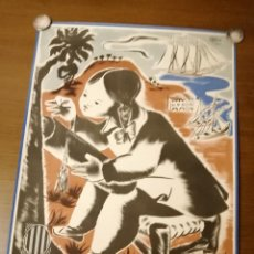 Carteles Guerra Civil: CARTEL PRO-INFANCIA- 1938. MIDE; 70 X 48 C.M. VER FOTOS. Lote 207556176