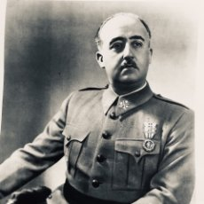 Carteles Guerra Civil: ANTIGUO RETRATO OFICIAL DE FRANCISCO FRANCO,FALANGE,FRANQUISTA,. Lote 219403145