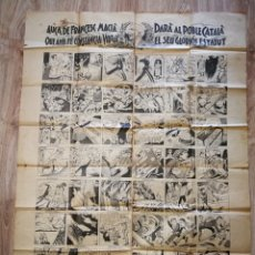 Carteles Guerra Civil: AUCA FRANCESC MACIA, ORIGINAL.. Lote 221660367