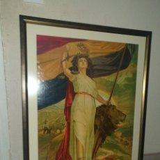 Carteles Guerra Civil: LITOGRAFIA DE LA 2A REPUBLICA ESPAÑOLA 1931. Lote 235452140