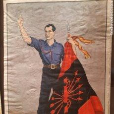 Carteles Guerra Civil: CARTEL JOSÉ ANTONIO PRIMO DE RIVERA 41 X 29 CM. Lote 253958775
