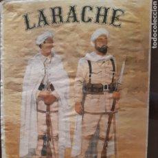 Carteles Guerra Civil: CARTEL LARACHE LA 92 DIVISIÓN 41 X 29 CM. Lote 253959115