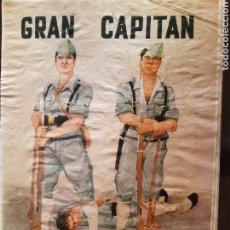 Carteles Guerra Civil: CARTEL TERCIO DE LA LEGIÓN GRAN CAPITÁN 41 X 29 CM. Lote 253959470