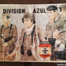 Carteles Guerra Civil: CARTEL DIVISIÓN AZUL 41 X 29 CM. Lote 253963150