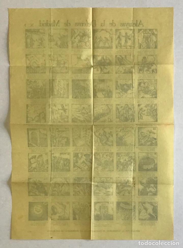 Carteles Guerra Civil: ALELUYAS DE LA DEFENSA DE MADRID N.º 3. AUCA. GUERRA CIVIL - Foto 2 - 264301676