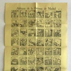 Carteles Guerra Civil: ALELUYAS DE LA DEFENSA DE MADRID N.º 3. AUCA. GUERRA CIVIL. Lote 264301676