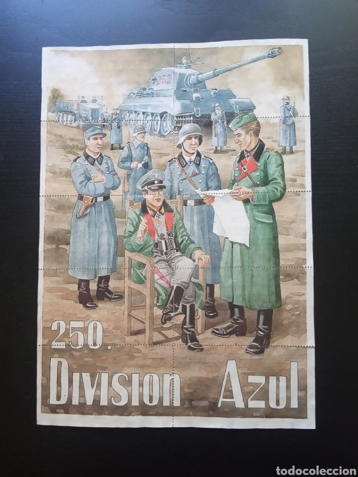 10 CUPONES RACIONAMIENTO. CIUDAD REAL 1944. DIVISION AZUL. GUERRA CIVIL (Coleccionismo - Carteles Gran Formato - Carteles Guerra Civil)