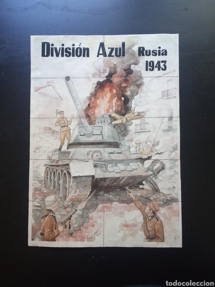 10 CUPONES RACIONAMIENTO, MANRESA BARCELONA. RUSIA 1943. DIVISIÓN AZUL. GUERRA CIVIL (Coleccionismo - Carteles Gran Formato - Carteles Guerra Civil)