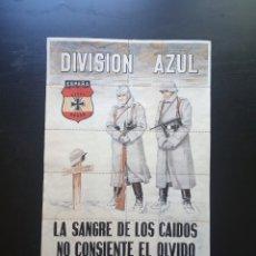Carteles Guerra Civil: 10 CUPONES RACIONAMIENTO DE VERA, ALMERÍA. DIVISIÓN AZUL. GUERRA CIVIL. Lote 275341973