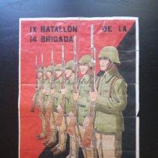 Carteles Guerra Civil: 10 CUPONES RACIONAMIENTO DE OVIEDO, ASTURIAS. COLUMNA DURRUTI. GUERRA CIVIL ESPAÑOLA. 14 BRIGADA. Lote 275510998