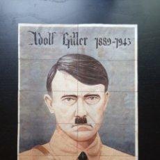 Carteles Guerra Civil: 10 CUPONES RACIONAMIENTO DE ARANDA DE DUERO, BURGOS. ADOLF HITLER. GUERRA CIVIL.. Lote 277459433