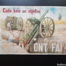 Carteles Guerra Civil: 10 CUPONES RACIONAMIENTO DE ALFAMBRA, TERUEL. C.N.T. F.A.I. GUERRA CIVIL. Lote 277460338