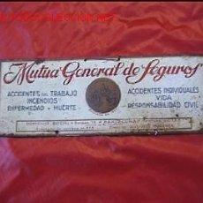Carteles: CHAPA MUTUA GENERAL DE SEGUROS. Lote 6694729