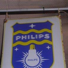 Carteles: CHAPA ESMALTADA ( ANTIGUA ) PHILIPS. Lote 22023270