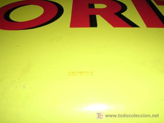 Carteles: CHAPA DE CERVEZAS MORITZ , EDIT, FONTCUBERTA S.A., AÑOS 50 APROX ( ORIGINAL ) - Foto 2 - 31675053