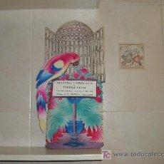 Carteles: FRUITERIA I VERDULERIA DE TERESA ELIAS,BARCELONA. Lote 9652647