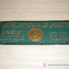 Carteles: PROPAGANDA MUTUA CATALANA DE ACCIDENTES,MUTUA PATRONAL DE ACCIDENTES DE TRABAJO,PRELABOR BARCELONA. Lote 9616042