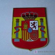 Carteles: CHAPA ESCUDO ESPAÑA. Lote 22089681