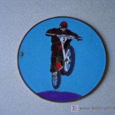 Carteles: CHAPA MOTOCROSS. Lote 22089682