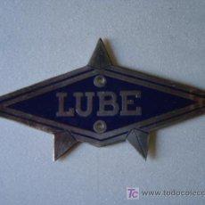 Carteles: CHAPA LUBE. Lote 22376351